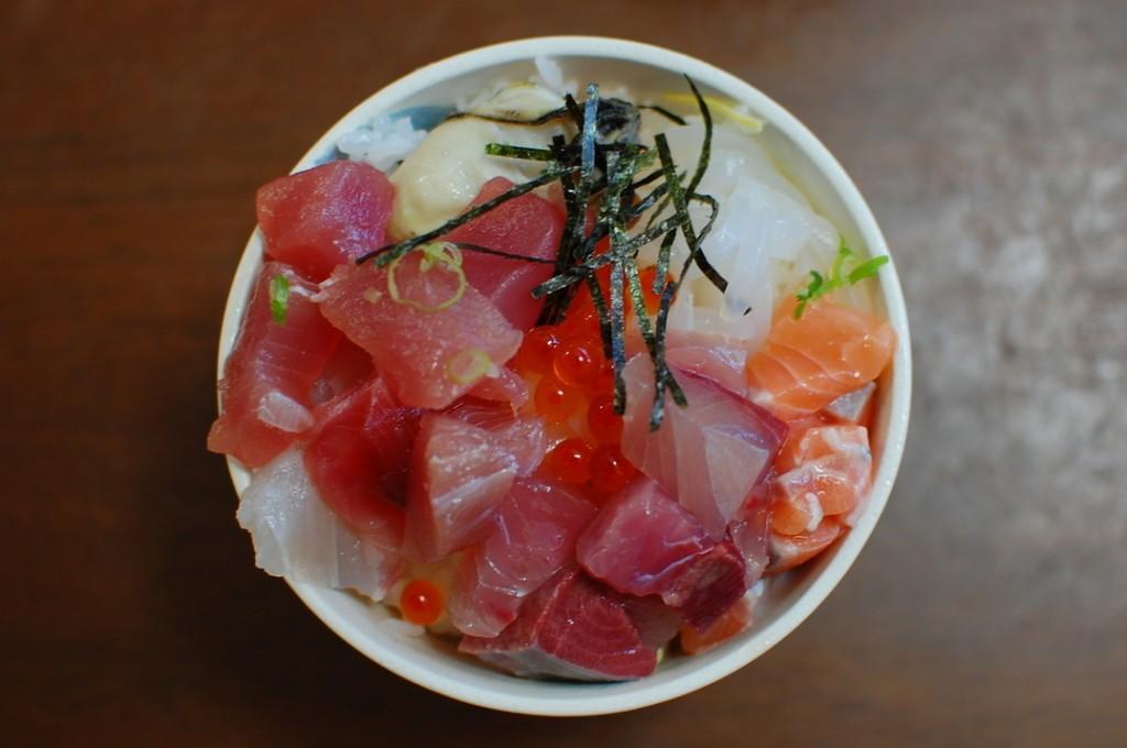 海鮮丼480円