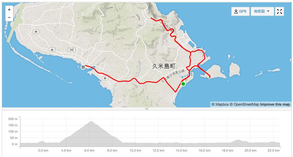 久米島最後の坂チャレンジ