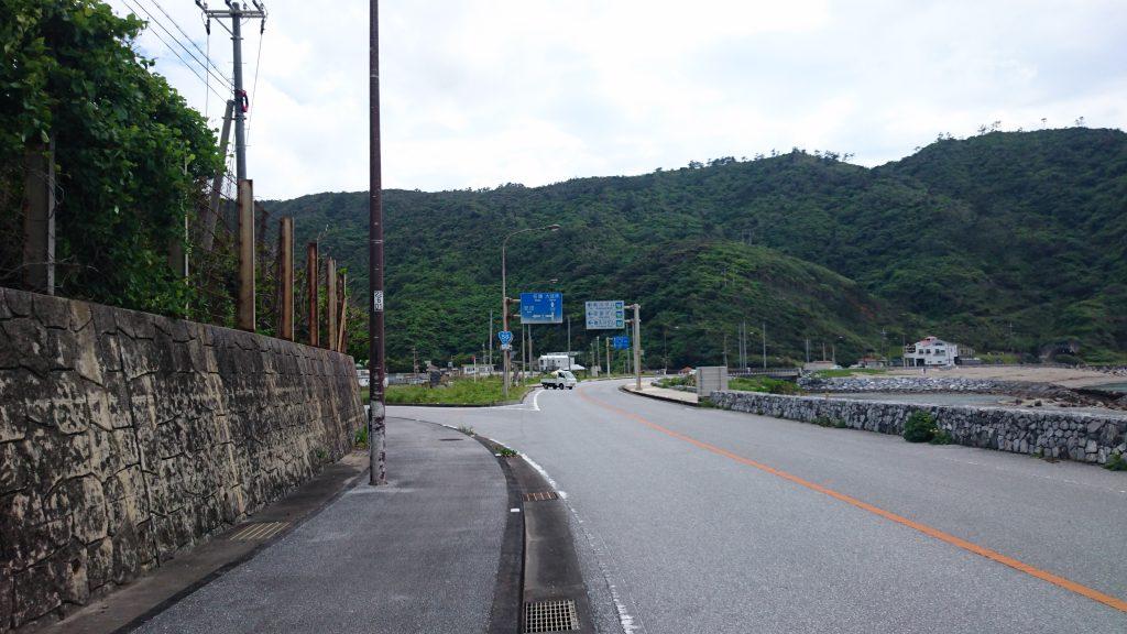 普久川ダムの入り口ふたたび