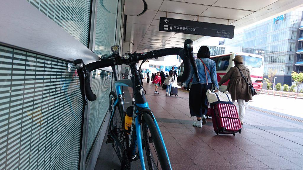 羽田空港ターミナル前