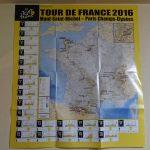 ツール・ド・フランス2016公式プログラム本発売 特大ルートマップがGOOD