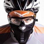 ロードバイクの花粉症・PM2.5対策にスポーツマスクNAROO・RESPRO